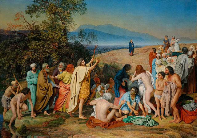 """Александр Иванов. """"Явление Христа народу"""", 1837–1857"""
