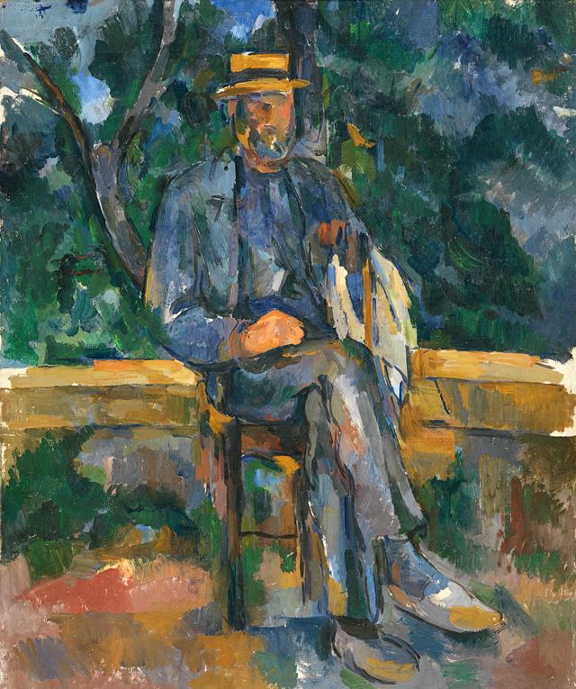 """Поль Сезанн. """"Портрет крестьянина"""". около 1905-1906"""