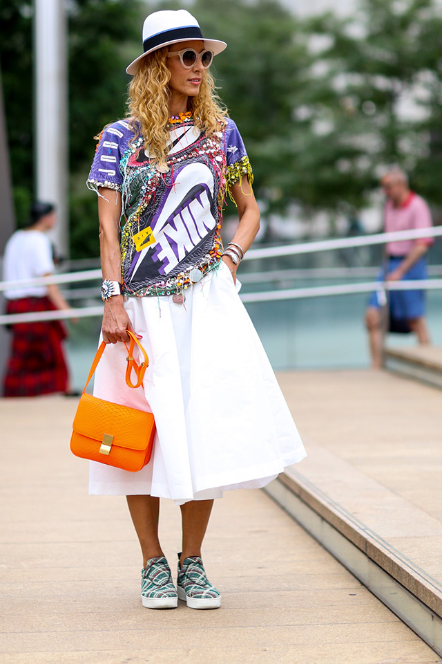 Fashion Week di New York / S 2015 S: street style.  Parte III (8 foto)