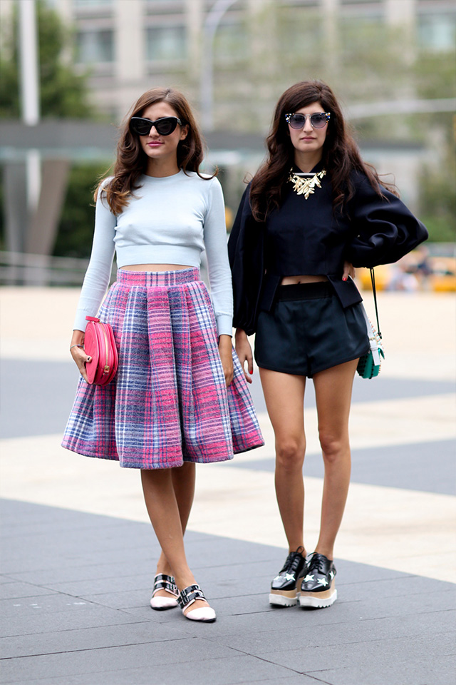 Fashion Week di New York / S 2015 S: street style.  Parte III (9 foto)