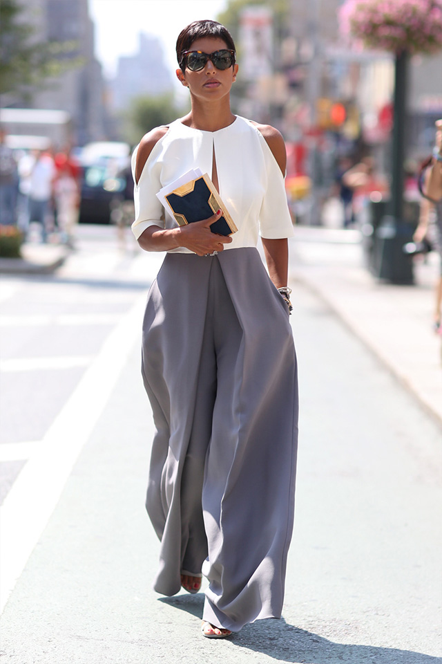 Fashion Week di New York / S 2015 S: street style.  Parte III (7 foto)