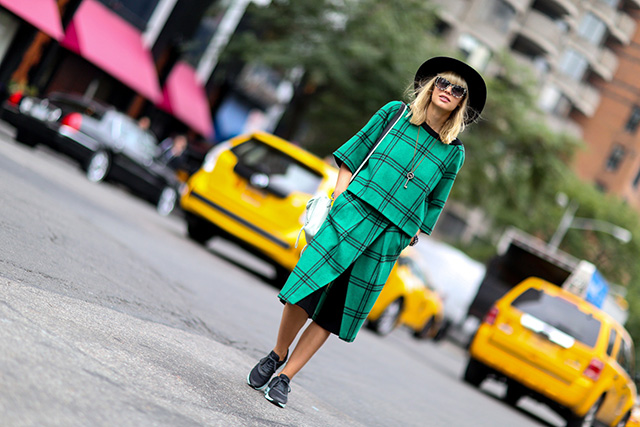 Fashion Week di New York / S 2015 S: street style.  Parte III (6 foto)