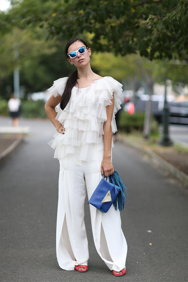 Fashion Week di New York / S 2015 S: street style.  Parte III (foto 3)