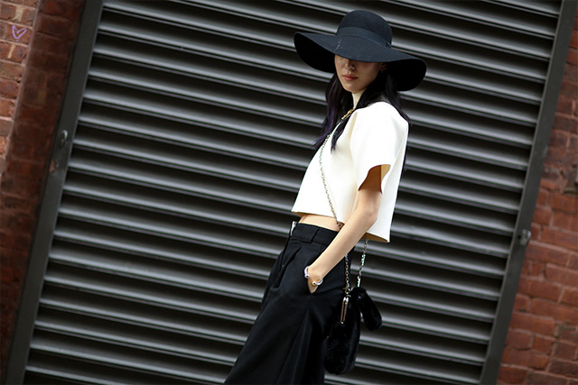 Fashion Week di New York / S 2015 S: street style.  Parte III (foto 2)