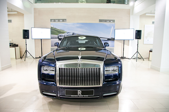 Rolls-Royce Ghost Moscow Limited Edition
