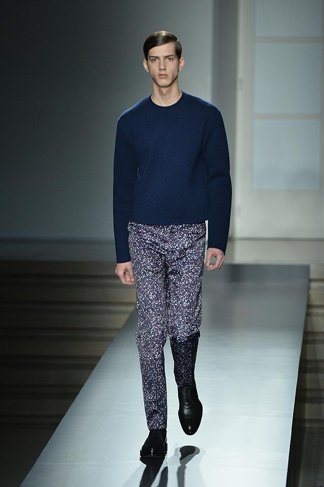 Jil Sander menswear, fw2014