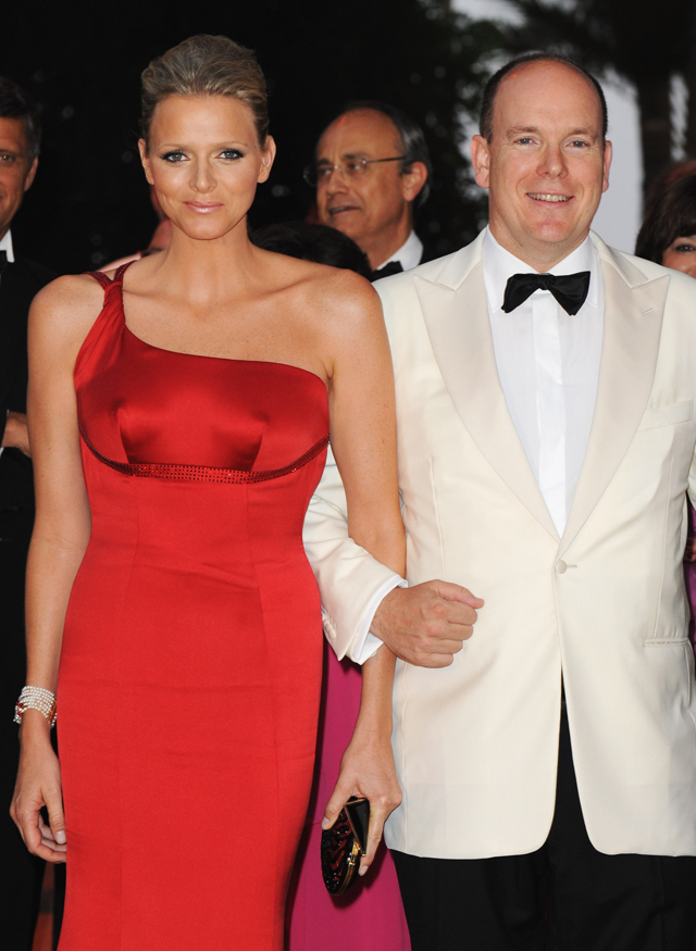 Prince Albert II of Monaco and Charlene Wittstock, 2009