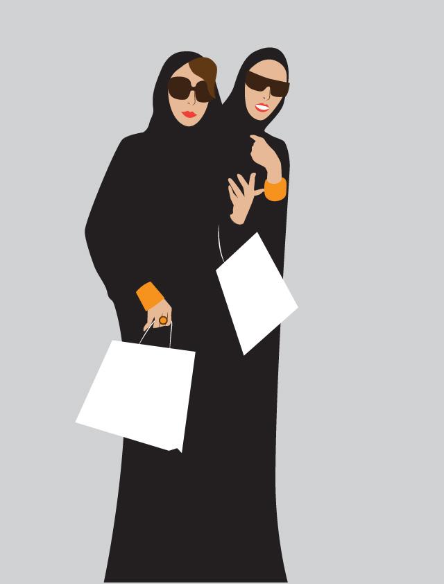 Что прячут модницы Дубая под своими абаями (фото 3)