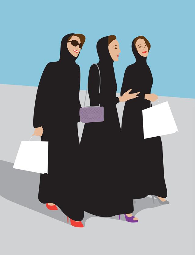 Что прячут модницы Дубая под своими абаями (фото 5)