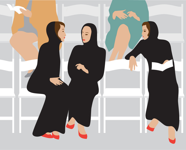 Что прячут модницы Дубая под своими абаями (фото 4)