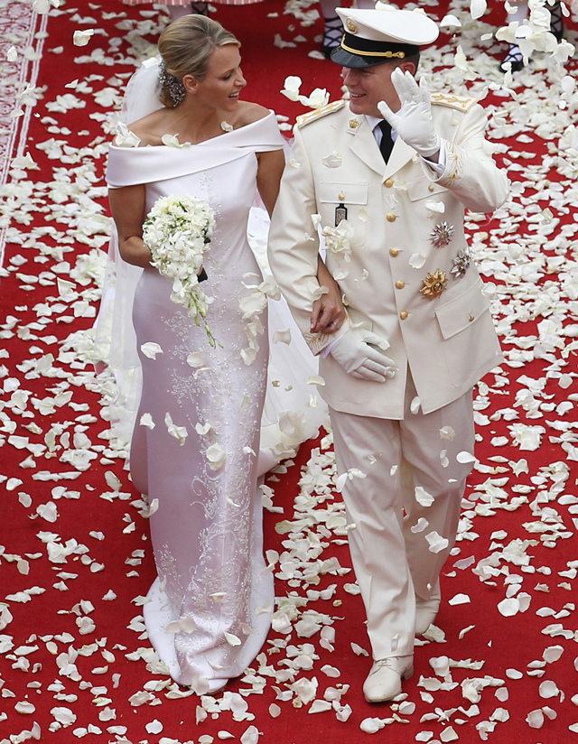 Prince Albert II of Monaco and Charlene Wittstock, 2011