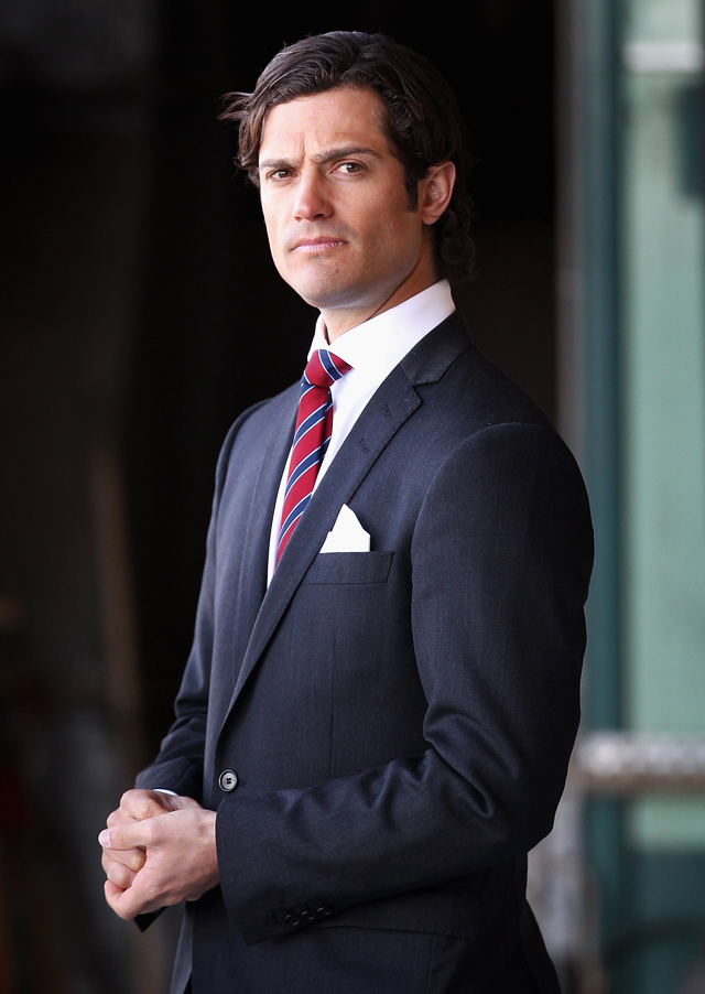 Prince Carl Philip of Sweden, 2012