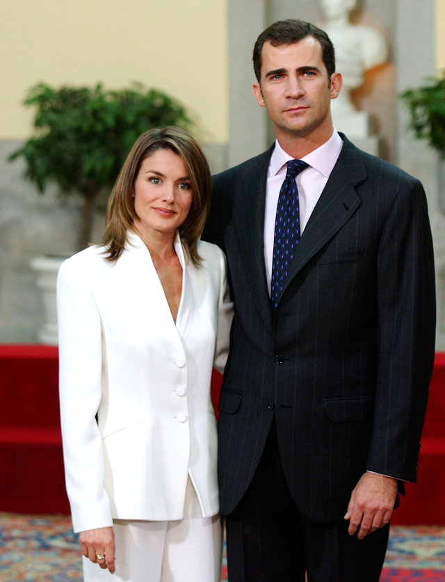 Crown Prince Felipe of Spain and Letizia Ortiz, 2003