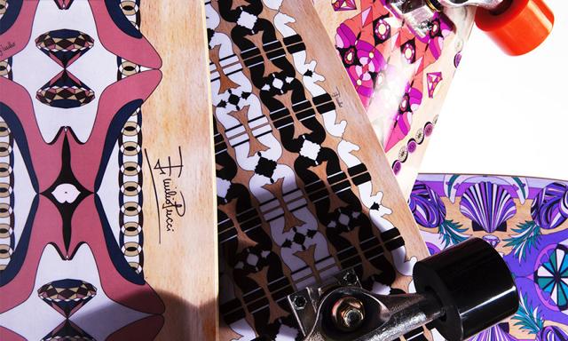 Emilio Pucci готовит к выпуску скейтборды (фото 1)