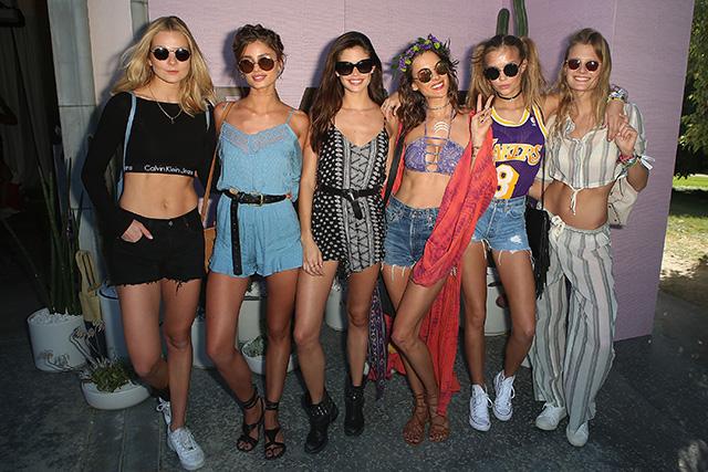 Гости второго дня фестиваля Coachella (фото 6)