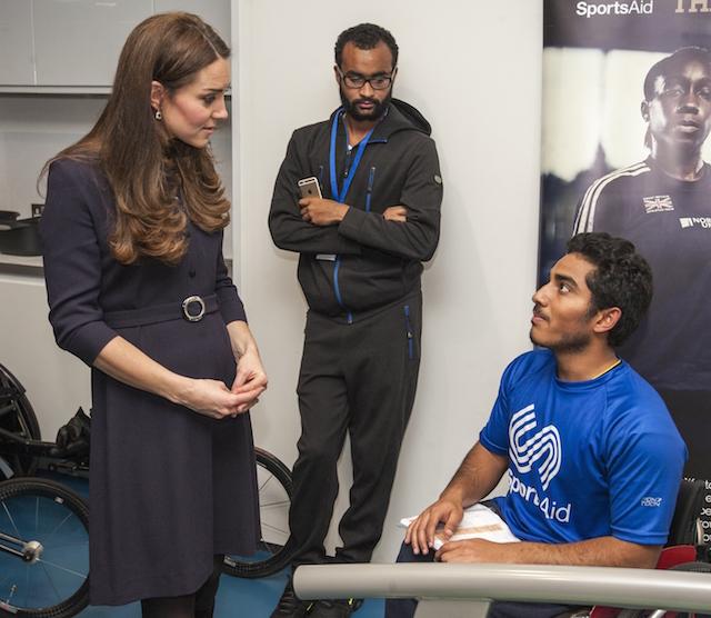 Кейт Миддлтон на спортивном семинаре в Лондоне (фото 2)