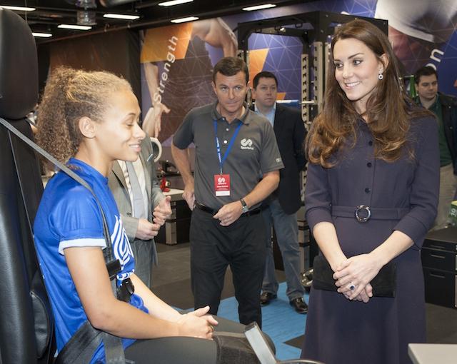 Кейт Миддлтон на спортивном семинаре в Лондоне (фото 3)