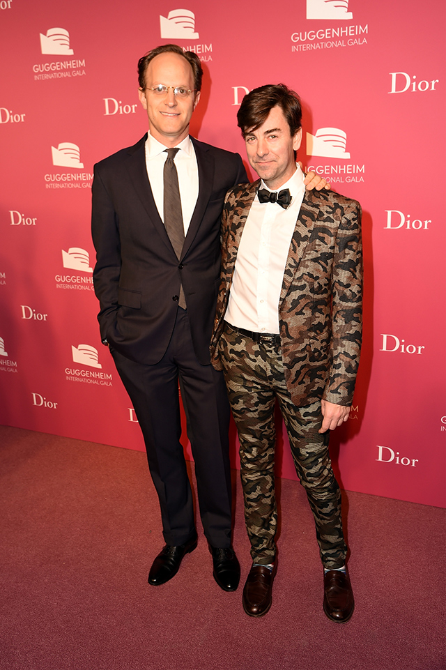 Вечер Dior по случаю Guggenheim International Gala (фото 15)