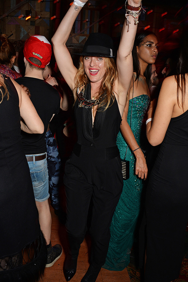 Kate Moss and Rita Ora at the party on the occasion of Halloween in London (photo 3)