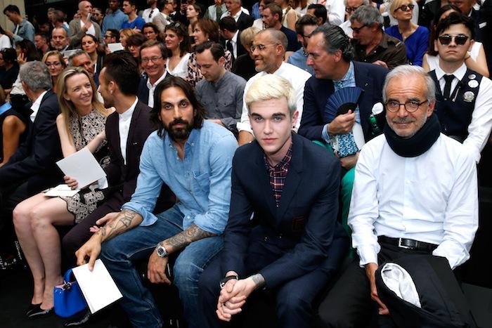 Гости показа Dior Homme, весна-лето 2016 (фото 6)