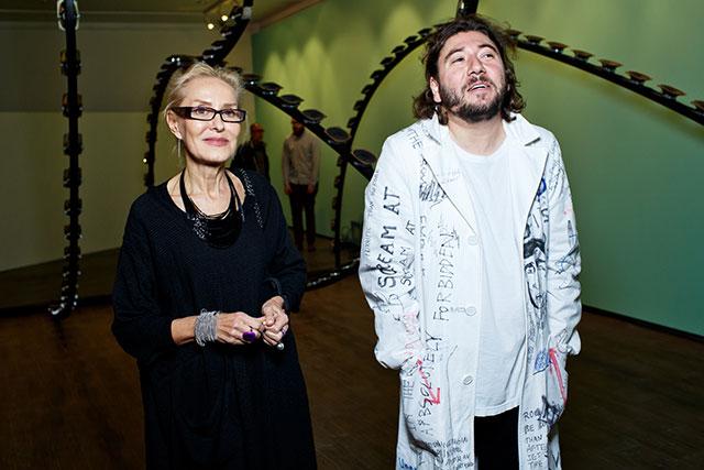Открытие выставки Андрея Бартенева в ММОМА (фото 1)