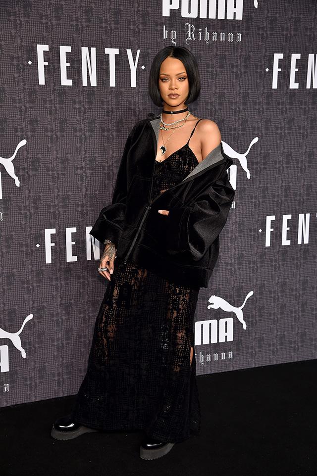 Гости показа Fenty Puma by Rihanna в Нью-Йорке (фото 1) Рианна bf2a75129b1