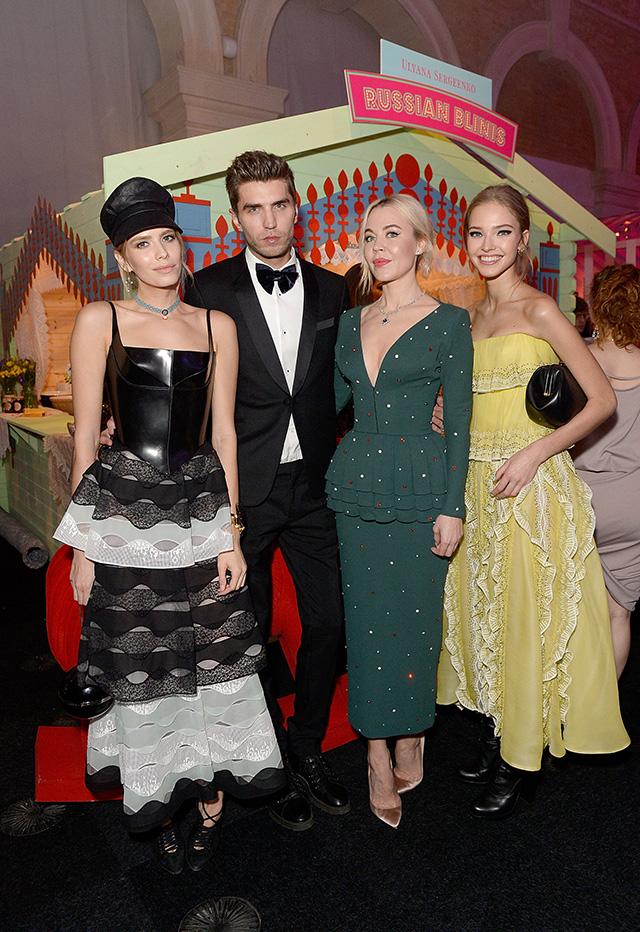 Гости благотворительного вечера Натальи Водяновой и Карли Клосс в Лондоне (фото 5)