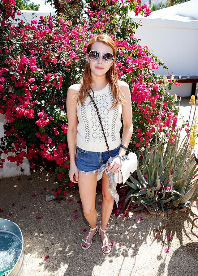 Гости первого дня фестиваля Coachella (фото 7)