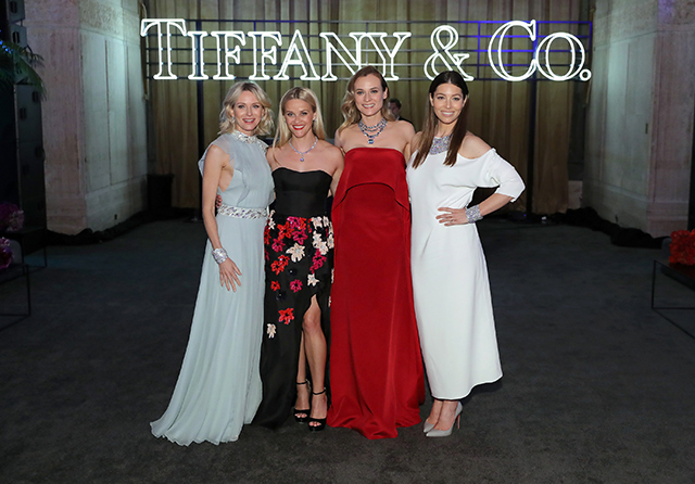 Гости гала-вечера от Tiffany & Co. в честь выхода Blue Book (фото 5)