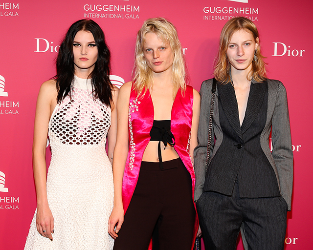 Вечер Dior по случаю Guggenheim International Gala (фото 10)