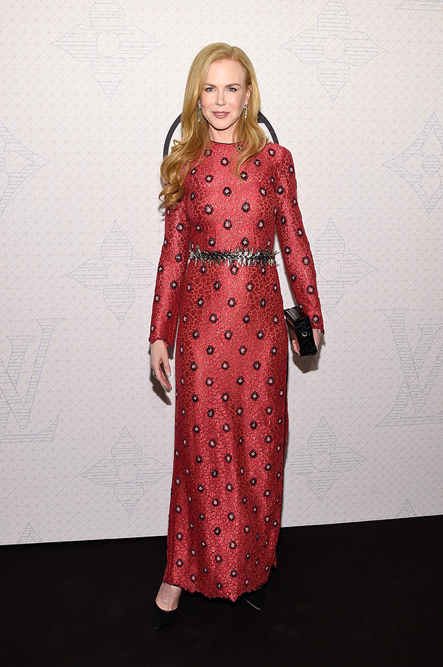 Evening on the occasion of the collection Louis Vuitton Celebrating Monogram in New York (6 photos)