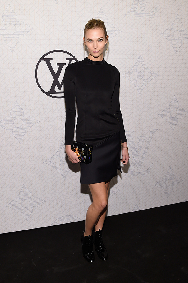 Evening on the occasion of the collection Louis Vuitton Celebrating Monogram in New York (8 photos)