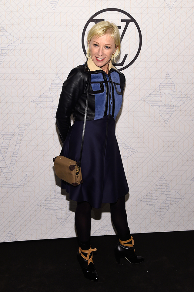 Evening on the occasion of the collection Louis Vuitton Celebrating Monogram in New York City (13 photos)