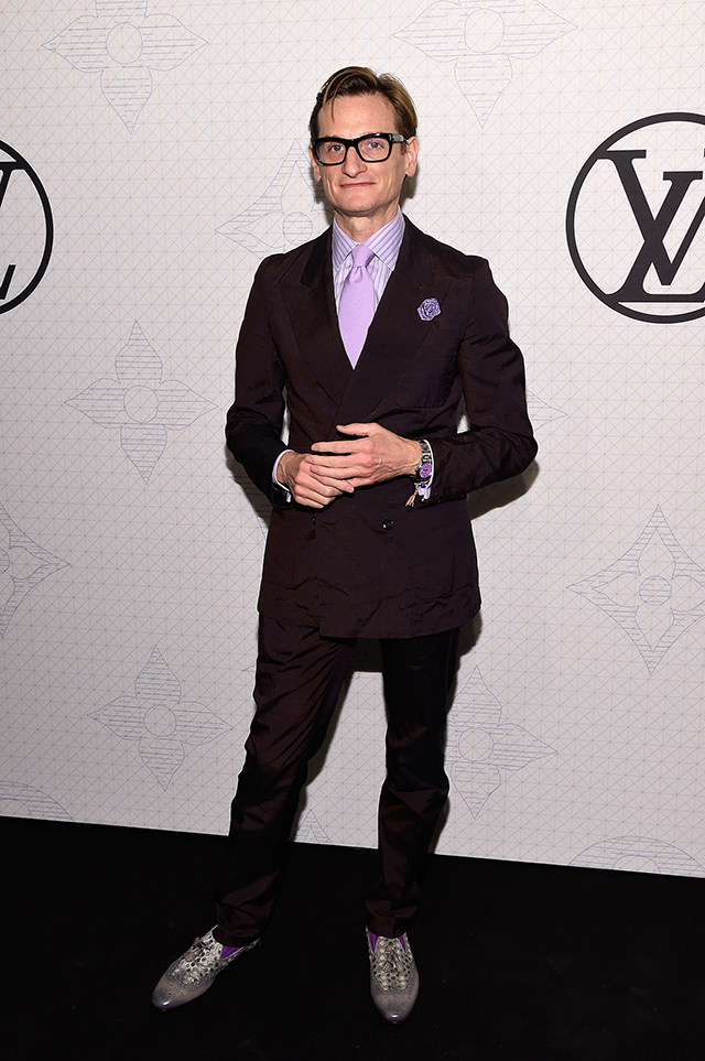 Evening on the occasion of the collection Louis Vuitton Celebrating Monogram in New York City (11 photos)