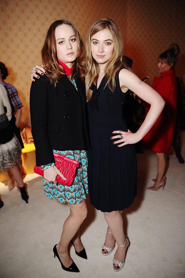 Brie Larson e Imogen Poots