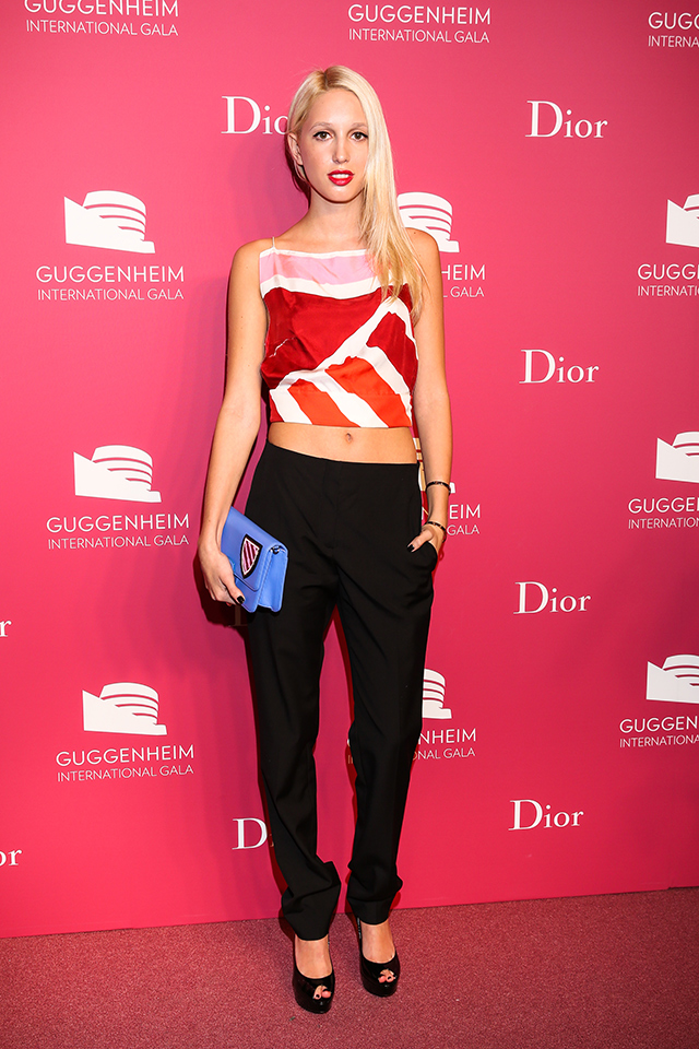 Вечер Dior по случаю Guggenheim International Gala (фото 5)