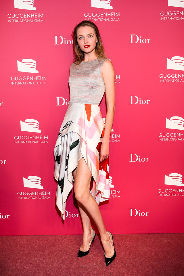 Вечер Dior по случаю Guggenheim International Gala (фото 9)