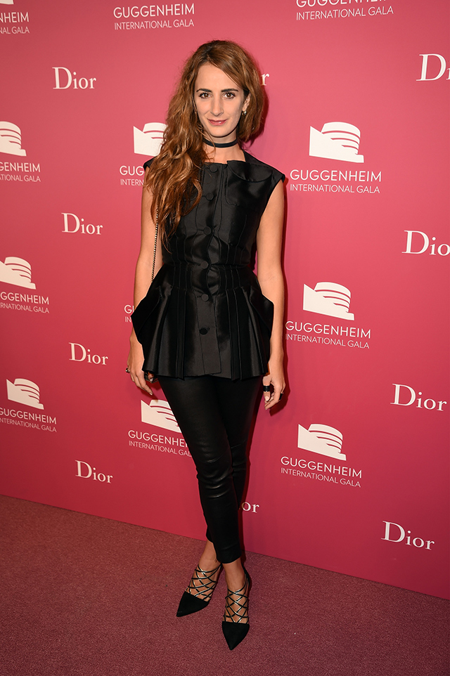 Вечер Dior по случаю Guggenheim International Gala (фото 12)