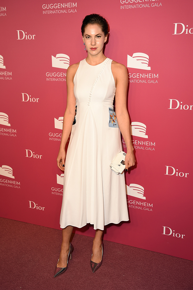 Вечер Dior по случаю Guggenheim International Gala (фото 11)