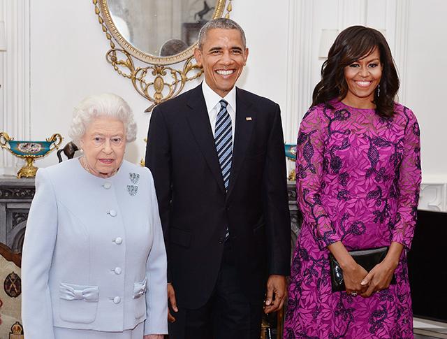 После ванны — на встречу с Обамой: принц Джордж поприветствовал президента США (фото 5)