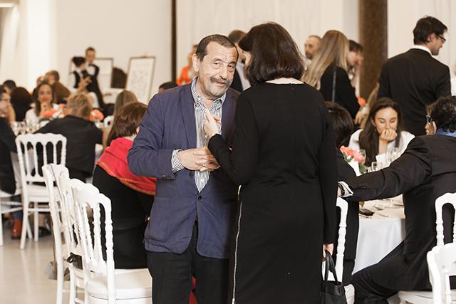 Торжественный прием в честь открытия выставки Захи Хадид (фото 17)