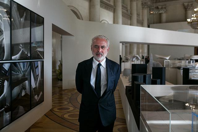 Торжественный прием в честь открытия выставки Захи Хадид (фото 2)