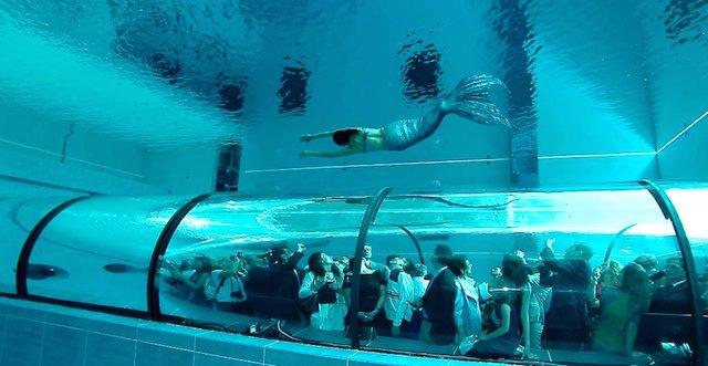 Самый глубокий бассейн в мире Y-40 с термальной водой (фото 1)