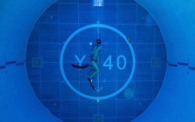 Самый глубокий бассейн в мире Y-40 с термальной водой (фото 2)
