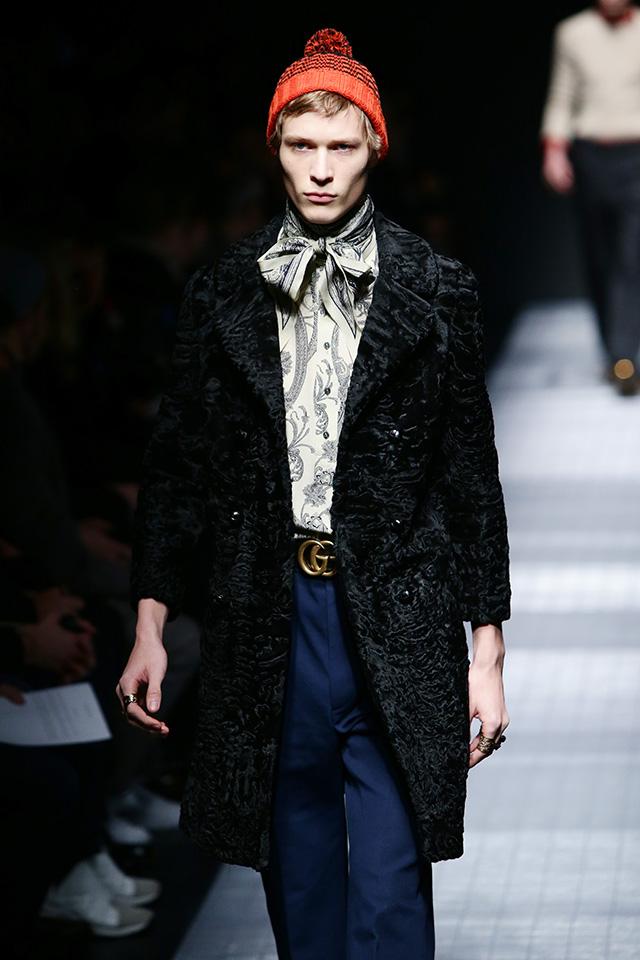 Обзор Buro 24/7: мужская коллекция Gucci, осень-зима 2015 (фото 3)