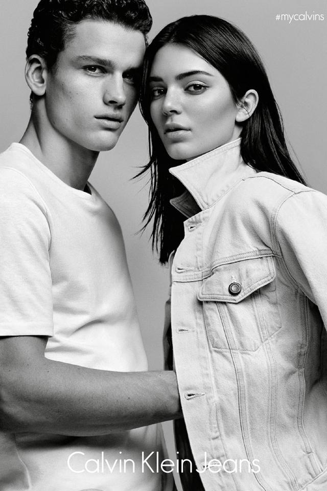Kendall in the campaign Calvin Klein (3 photos)