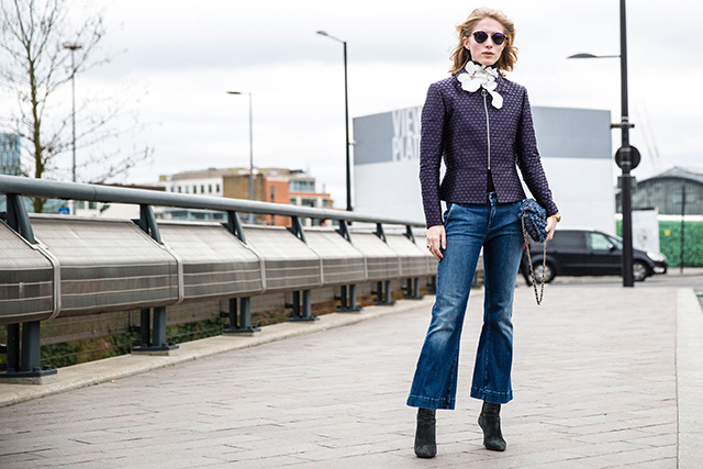 Неделя моды в Лондоне, осень-зима 2016: street style. Часть 2 (фото 4)