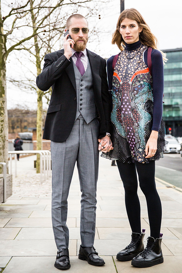 Неделя моды в Лондоне, осень-зима 2016: street style. Часть 2 (фото 3)