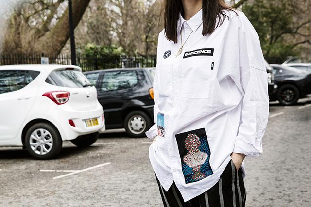 Неделя моды в Лондоне, осень-зима 2016: street style. Часть 2 (фото 19)