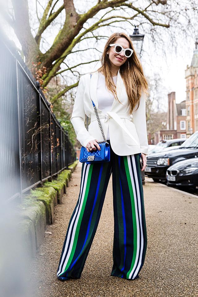 Неделя моды в Лондоне, осень-зима 2016: street style. Часть 2 (фото 21)
